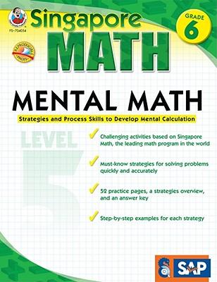 Mental Math Grade 6 By Singapore Asian Publications (COM)